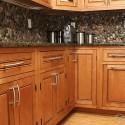 River Pebble Backsplash , 5 Popular Pebble Backsplash In Kitchen Category