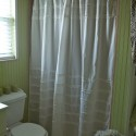 Rows of Off White Ruffles , 8 Ultimate White Cotton Shower Curtain In Others Category
