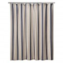 Rugby Stripe Shower Curtain , 8 Stunning Striped Shower Curtain In Others Category