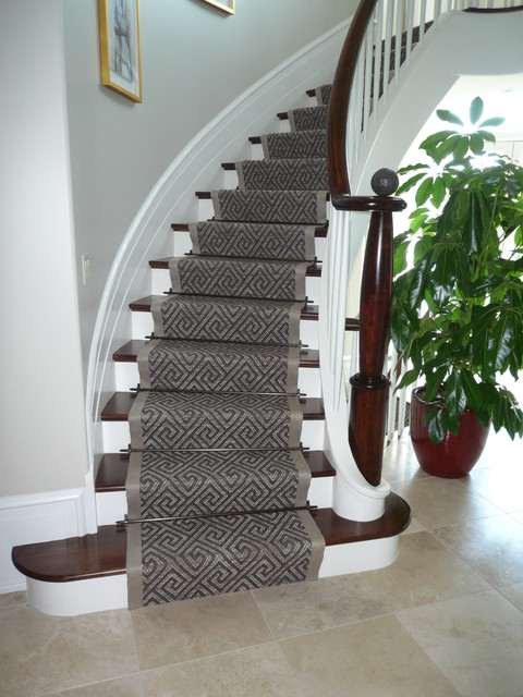 Interior Design , 7 Stunning Modern Stair Runners : Runner modern staircase