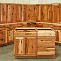 Rustic Hickory Kitchen , 7 Awesome Rustic Hickory Cabinets In Kitchen Category