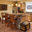 Rustic Hickory Pub , 7 Awesome Rustic Hickory Cabinets In Kitchen Category