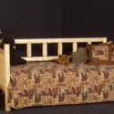 Rustic Log Daybed , 7 Unique Rustic Daybed In Bedroom Category