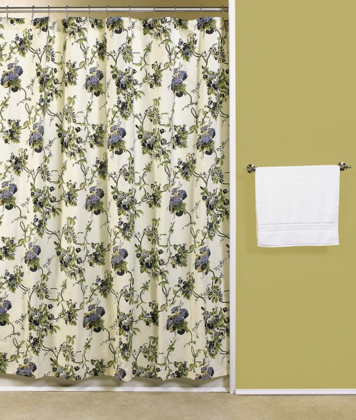 Others , 8 Stunning Shower Curtains With Matching Window Curtains : Sachet Shower Curtain