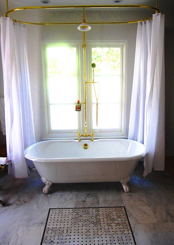 Others , 8 Best Clawfoot Tub Shower Curtain : Shower Curtain
