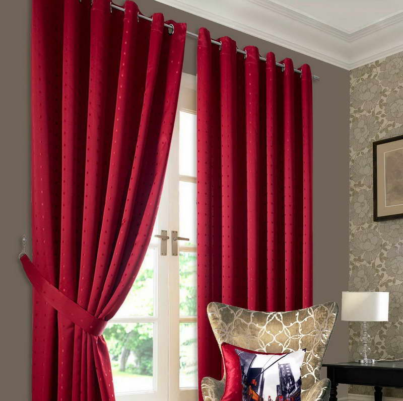 Simple pattern curtain panels 8 amazing patterned for Simple curtain patterns
