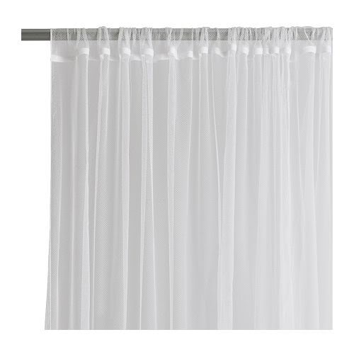 Others , 7 Charming Ikea Sheer Curtains : Slotted heading