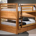 Solid Wood Bunk Beds For , 5 Best Loft Beds For Adults In Bedroom Category
