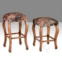 Solid Wood Pine Hair , 7 Fabulous Cowhide Bar Stools In Furniture Category
