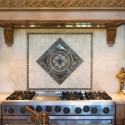 Sonoma Medallion , 7 Cool Backsplash Medallions In Kitchen Category