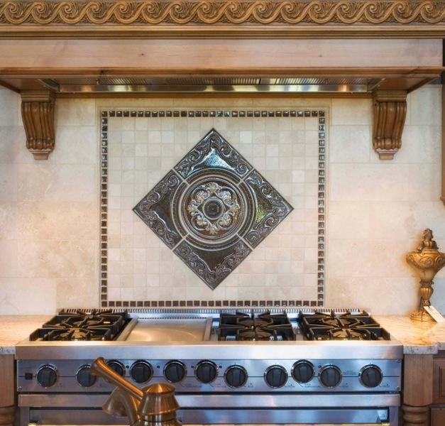 kitchen backsplash metal medallions 28 images 28 kitchen