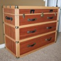Steamer Trunk Dresser , 6 Nice Trunk Nightstand In Furniture Category