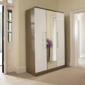 Stylish Bifold Mirrored Closet Doors , 7 Fabulous Mirrored Closet Doors In Furniture Category