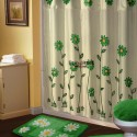 Sunflower White Green Shower Curtain , 7 Popular Sunflower Shower Curtain In Others Category