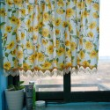 Sunflowers Kitchen Window  , 7 Popular Sunflower Shower Curtain In Others Category