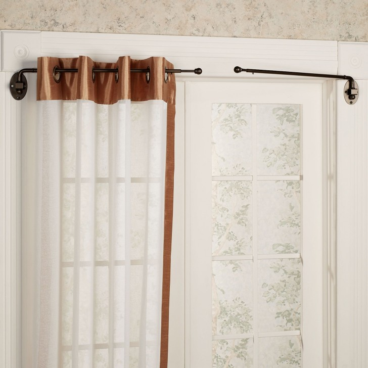Others , 7 Awesome Swing Arm Curtain Rods : Swing Arm Curtain Rod