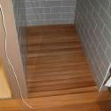 Bathroom , 8 Ideal Teak Shower Floor : Teak flooring