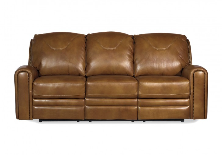 Furniture , 7 Gorgeous Saddle Leather Sofa : Texas Saddle Leather Reclining Sofa