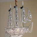 The Cabinet Shop , 8 Stunning Pirate Ship Chandelier In Lightning Category