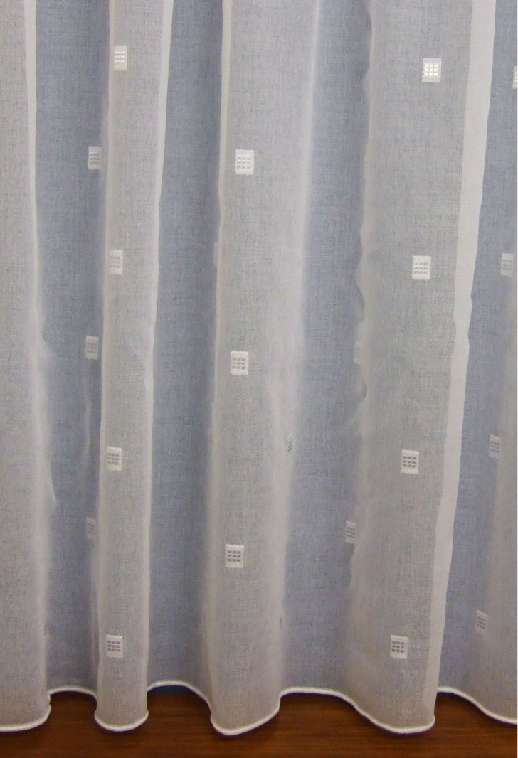 Others , 7 Cool Voile Curtains : Trinity White Voile Curtains