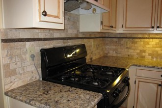 912x684px 7 Superb Tumbled Stone Backsplash Picture in Kitchen