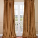 Velvet Blackout Extra Wide Curtain , 7 Amazing Velvet Curtain Panels In Others Category