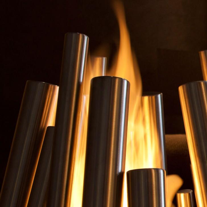 Lightning , 7 Nice Ecosmart Fire : Ventless Outdoor Fireplace