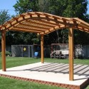 Vintage Arched Pergola , 8 Unique Curved Pergola In Homes Category