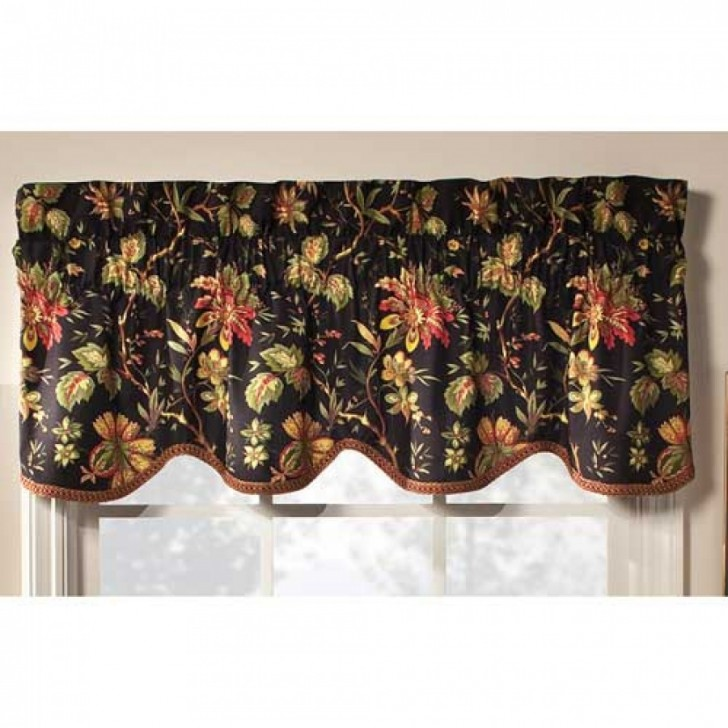 Interior Design , 9 Good Waverly Valances : Waverly Felicite Window Valance