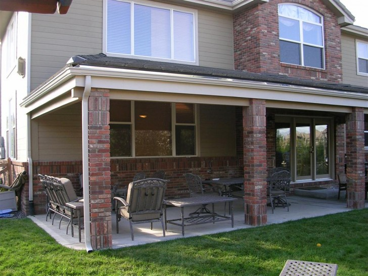 Homes , 6 Ideal Patio Overhang : Westminster Patio Overhang