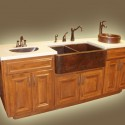 Wild Horse Copper Sinks , 7 Awesome Copper Farmhouse Sink In Kitchen Appliances Category