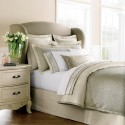 Wing Upholstered Bed , 8 Amazing Winged Headboard In Bedroom Category