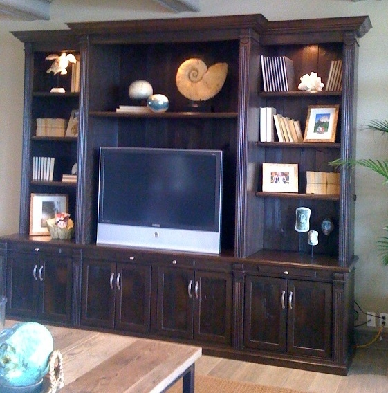 561x568px 8 Awesome Reclaimed Wood Entertainment Center Picture in Furniture