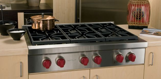 Kitchen Appliances , 6 Unique Wolf Rangetop : Wolf Sealed Rangetop