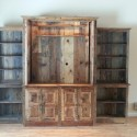 Wood Entertainment Center rustic , 8 Awesome Reclaimed Wood Entertainment Center In Furniture Category