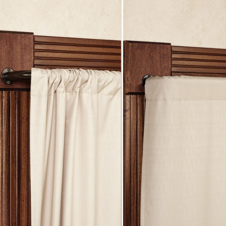 Others , 7 Awesome Wrap Around Curtain Rod : Wrap Around Curtain Rod