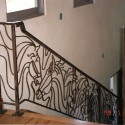 Wrought Iron Stair Railings , 8 Nice Wrought Iron Stair Railing In Interior Design Category