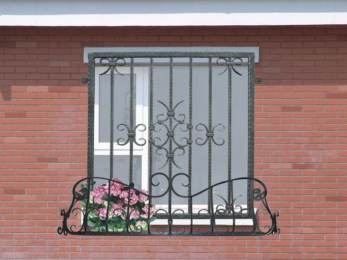 Others , 7 Cool Wrought Iron Window Guards : Wrought Iron Window Guard