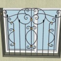 Wrought Iron window grates , 7 Cool Wrought Iron Window Guards In Others Category