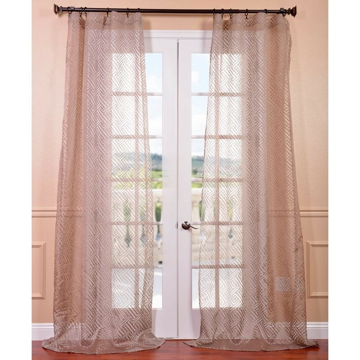 736x736px 8 Amazing Patterned Curtain Panels Picture in Others