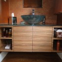 Zebra Wood Wall Vanity , 8 Best Zebra Wood Cabinets In Kitchen Category
