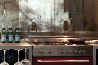 620x413px 7 Unique Antique Mirror Backsplash Picture in Kitchen