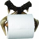 antler toilet paper holder , 7 Unique Toilet Paper Holders In Bathroom Category