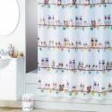 bathroom accessories , 7 Popular Owl Shower Curtain In Interior Design Category