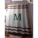 bathroom decor , 8 Ideal Monogram Shower Curtain In Others Category