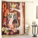 bathroom decorating ideas , 7 Popular Owl Shower Curtain In Interior Design Category