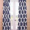 blackout curtains , 8 Brilliant Ikat Curtains In Interior Design Category