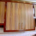 cabinet doors , 8 Best Zebra Wood Cabinets In Kitchen Category