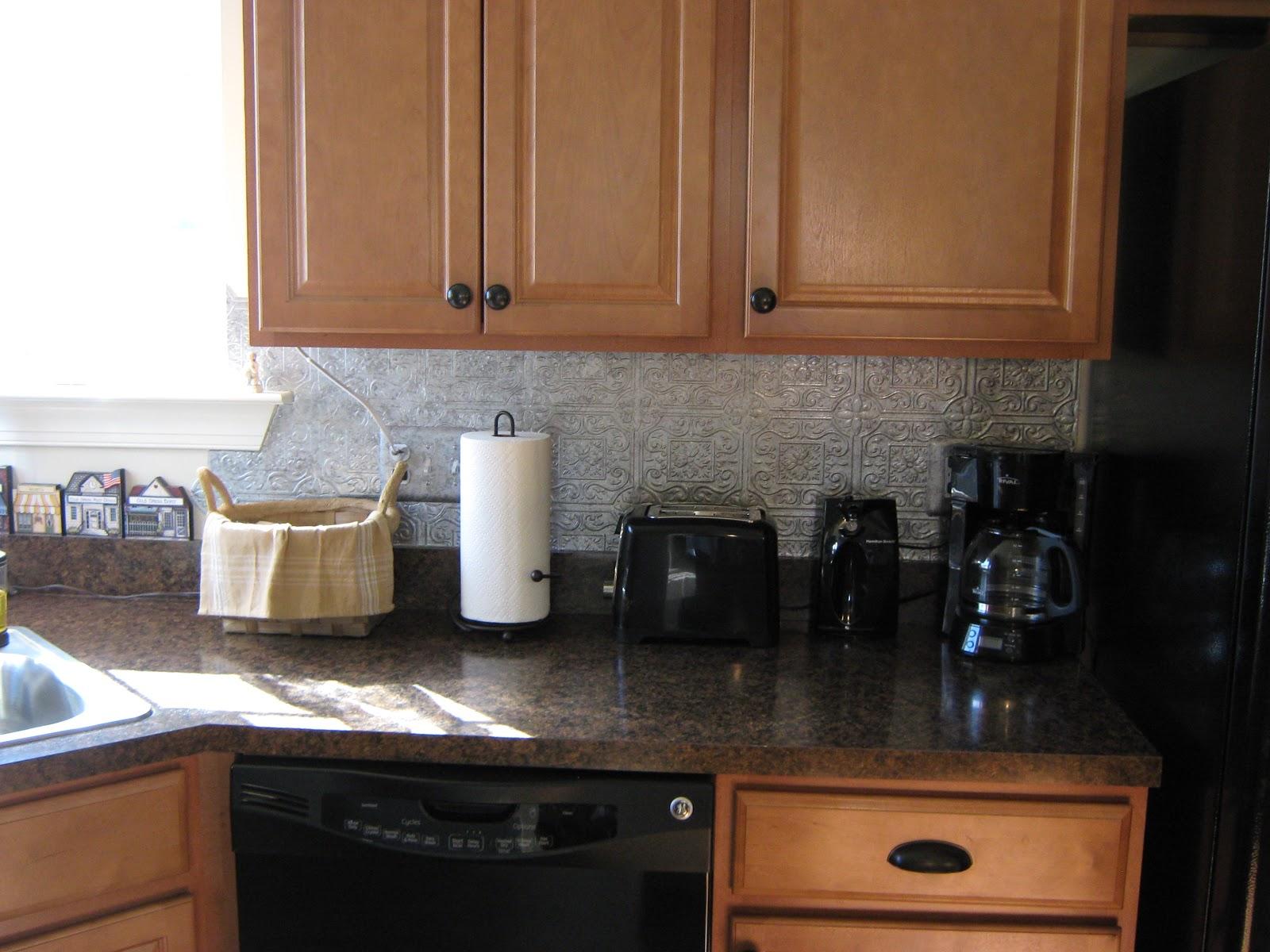1600x1200px 7 Charming Tin Backsplash Picture in Kitchen