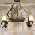 chandelier shades , 8 Stunning Pirate Ship Chandelier In Lightning Category